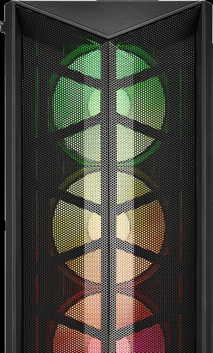 מארז מחשב FSP CMT211A A-RGB Black