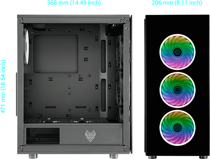 CMT340 size, Compact Design