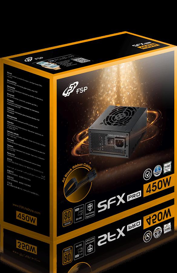 Resultado de imagen para FSP SFX Pro 450W 80 Plus Bronze