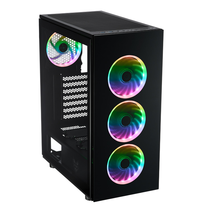 FSP Introduces new CMT340 RGB tempered glass PC gaming tower