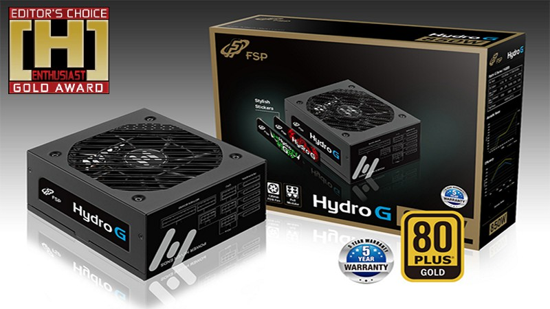 FSP HYDRO G 650W PSU Review