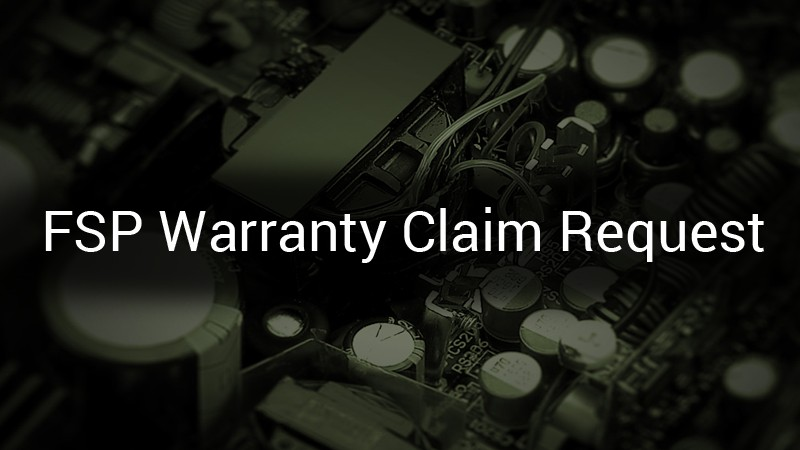 Warranty Claim Request