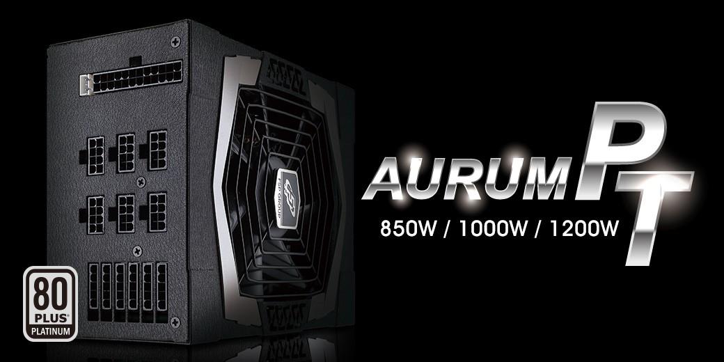 Nguồn FSP Power Supply AURUM PT Series PT 1200FM Active PFC (80 Plus Platinum/Full Modular/Màu Đen) giới thiệu 1