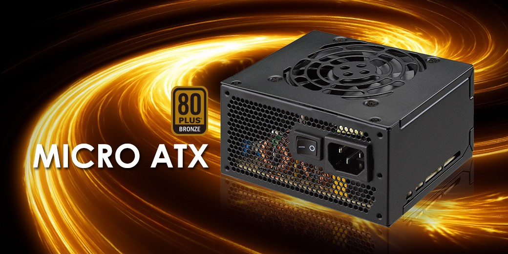 Resultado de imagen para FSP 450W Mini ITX Solution/SFX 12V / Micro ATX 80 Plus Bronze