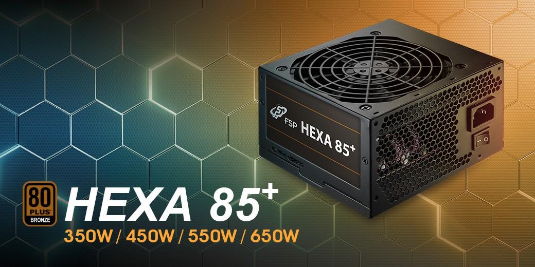 HEXA 85+ 450W   Power Supply   FspLifeStyle