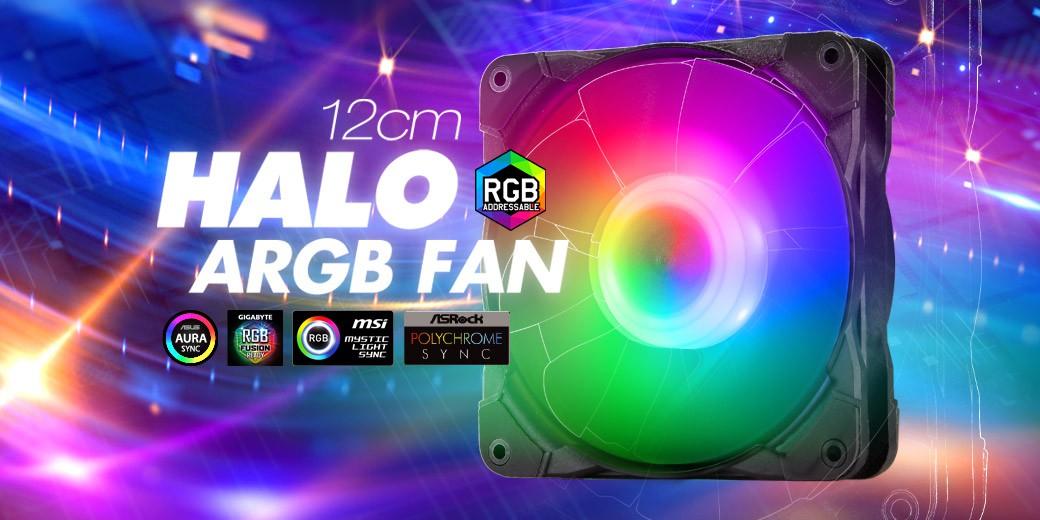 HALO ARGB FAN | Case Fan | FspLifeStyle